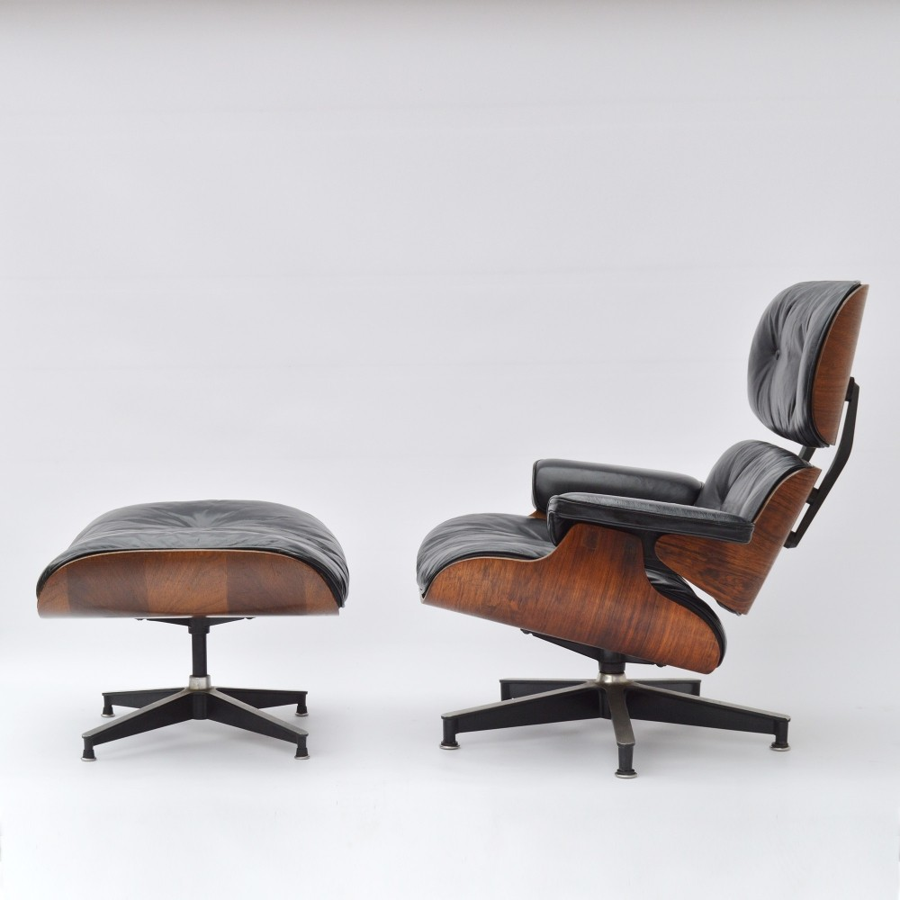 Eames Lounge Chair & Ottoman ES670 ES671 by Herman