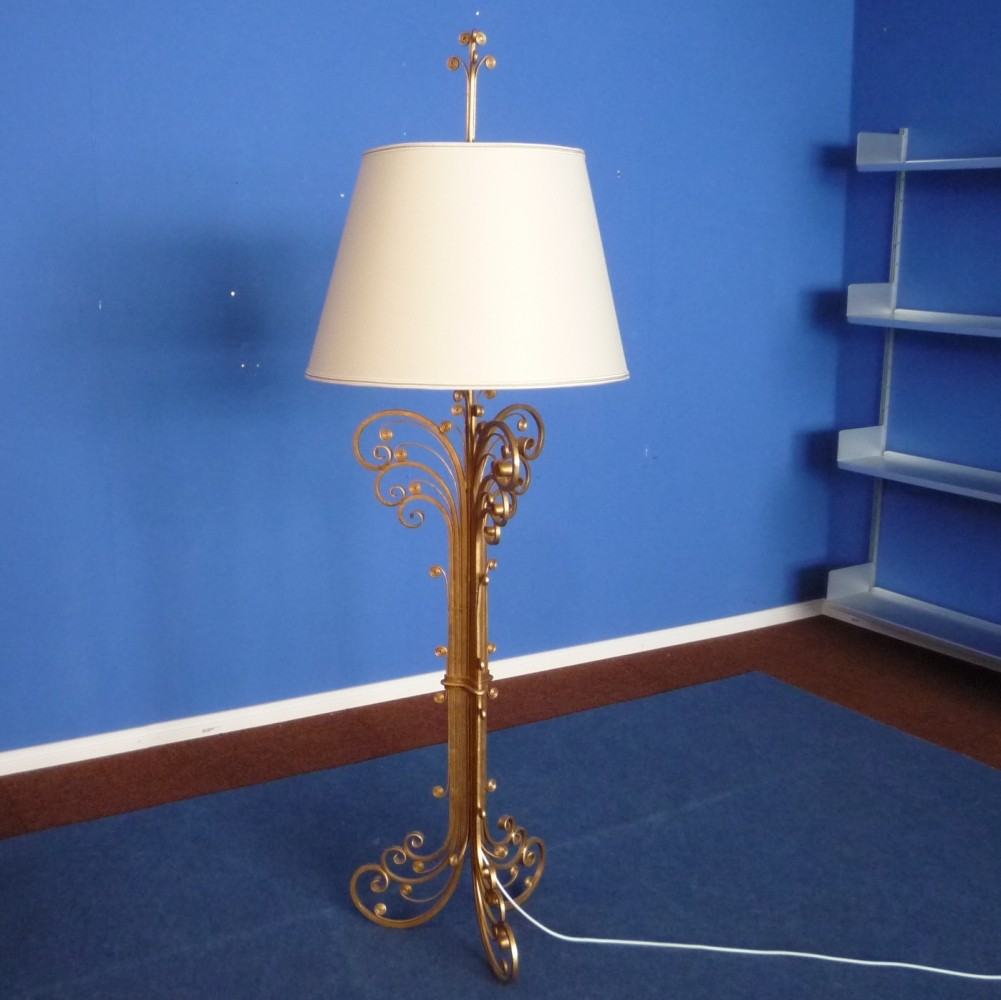 Floor Lamp from the sixties by Maison Charles for Maison Baques