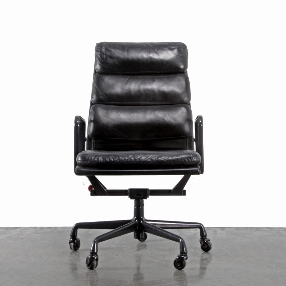 4 x ea219 office chair by charles ray eames for herman miller 1990s 57437. Black Bedroom Furniture Sets. Home Design Ideas