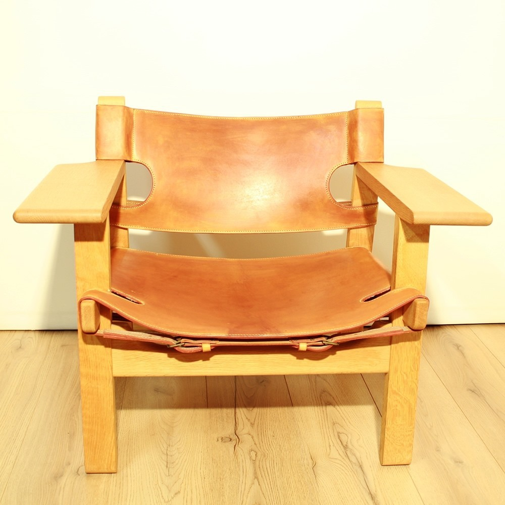2226 Spanish arm chair by Børge Mogensen for Fredericia Stolefabrik, 1960s