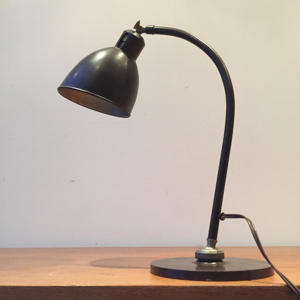 Polo Popular desk lamp by Christian Dell for Bünte und Remmler, 1930s