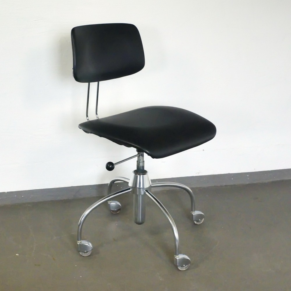 Designer office chair - Office Chair From The Sixties By Unknown Designer For Drabert