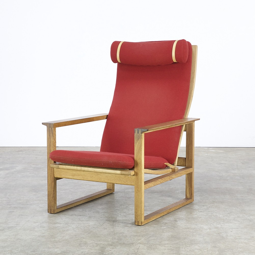 Lounge Chair By Børge Mogensen For Fredericia Stolefabrik, 1970s