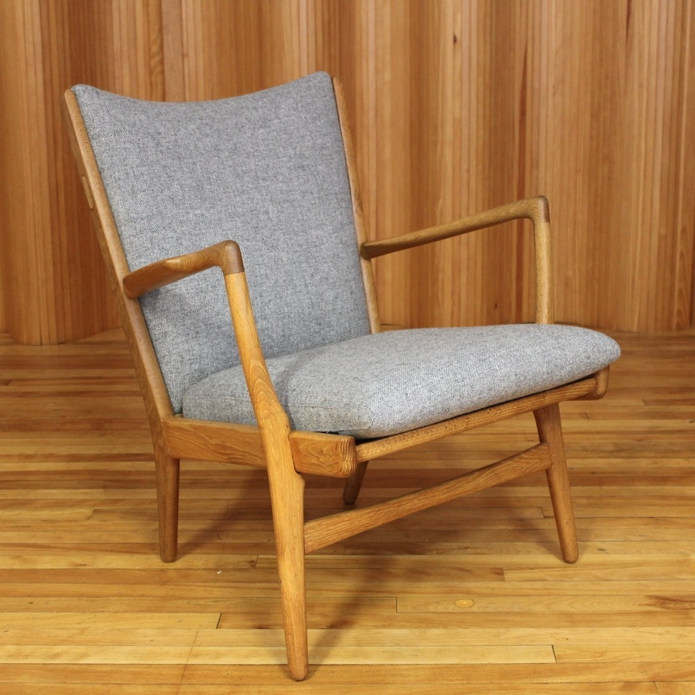 AP16 Lounge Chair By Hans Wegner For AP Stolen, 1950s