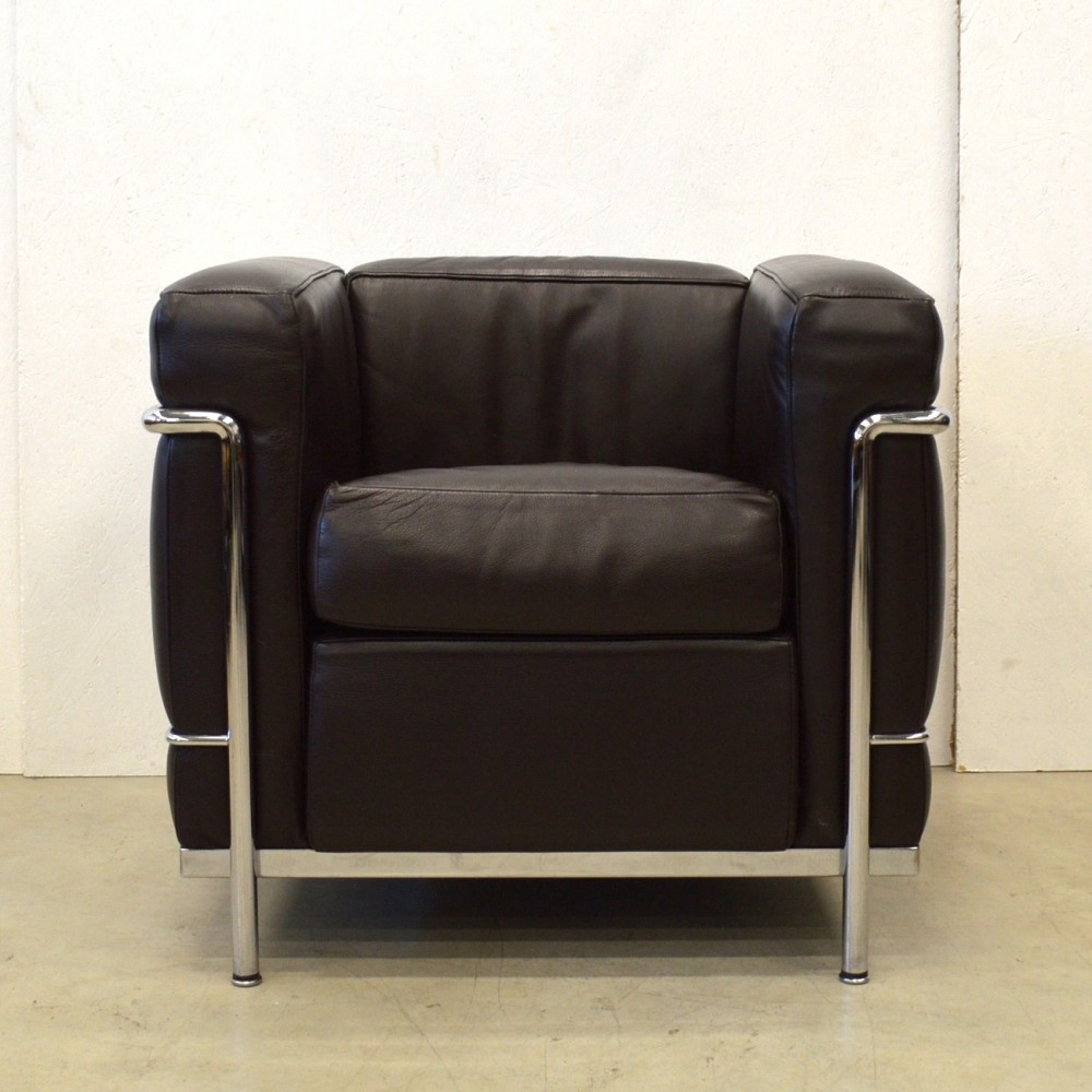 Lc2 lounge chair by le corbusier for cassina 1980s 59282 - Canape lc2 le corbusier ...