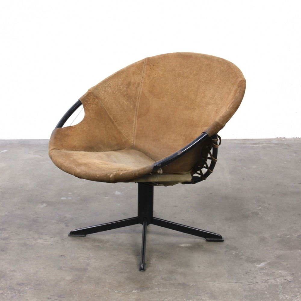 Balloon lounge chair by Lush Germany, 1960s