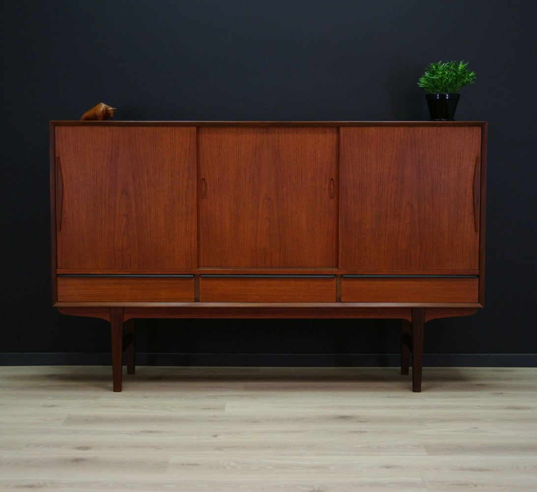 high sideboard 1970s 60152. Black Bedroom Furniture Sets. Home Design Ideas