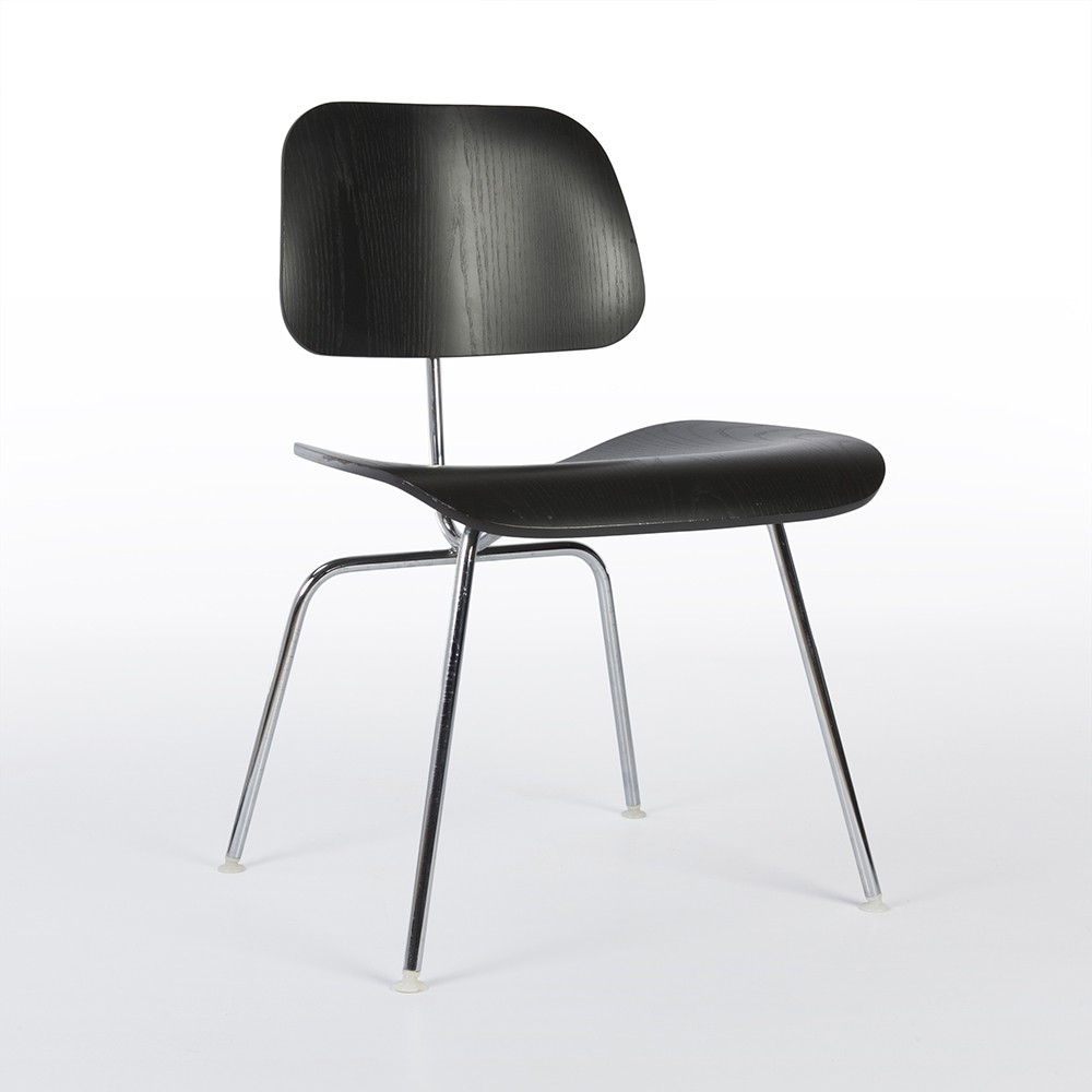 4 dcm dinner chairs by charles u0026 ray eames for herman miller - Herman Miller Eames Chair