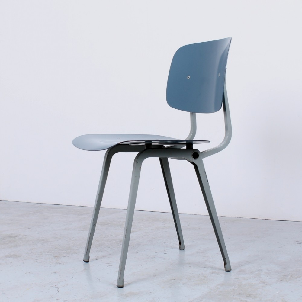 Revolt dinner chair by Friso Kramer for Ahrend de Cirkel, 1950s