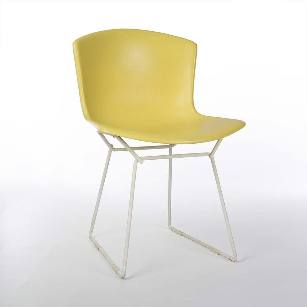 Bertoia diamond chair vintage - Original Fibreglass Harry Bertoia Knoll Side Chair