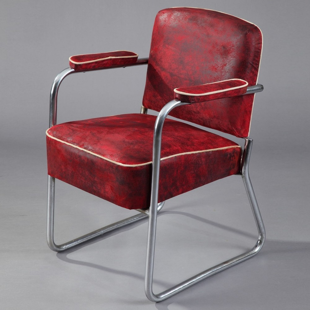Arm chair by Marcel Breuer for Thonet, 1930s