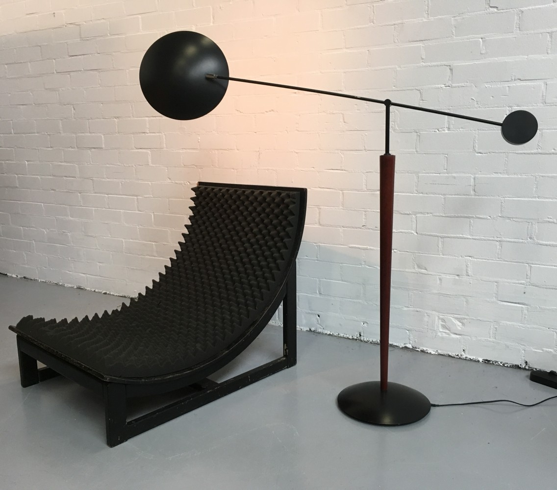 Floor Lamp from the eighties by Unknown Designer for Herda