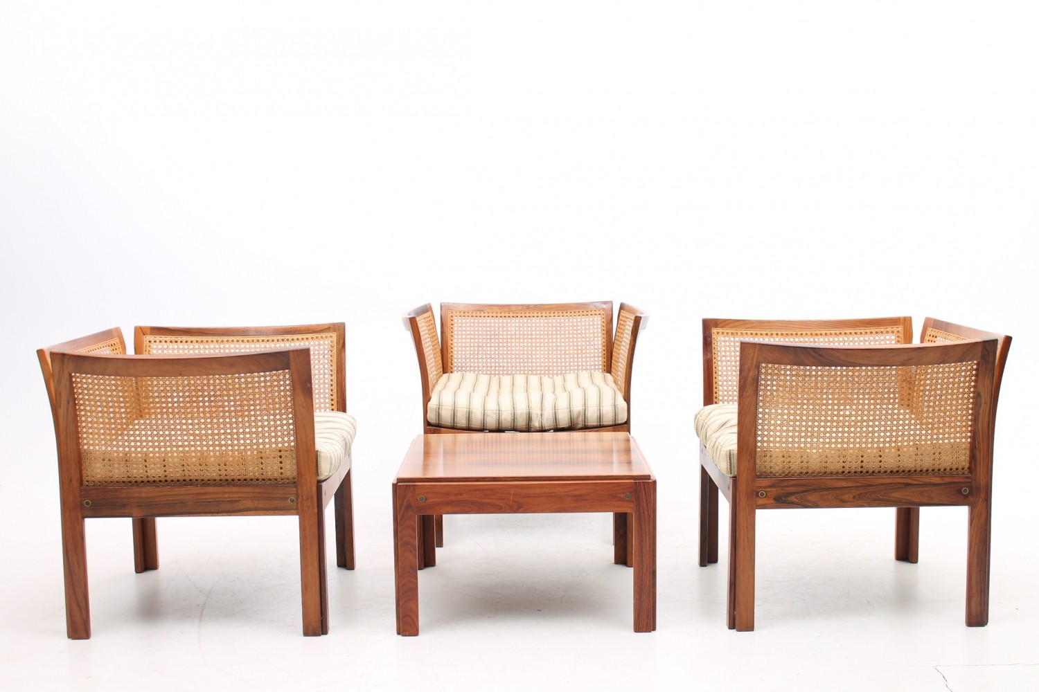 Seating Group from the sixties by Illum Wikkelsø for CFC Silkeborg