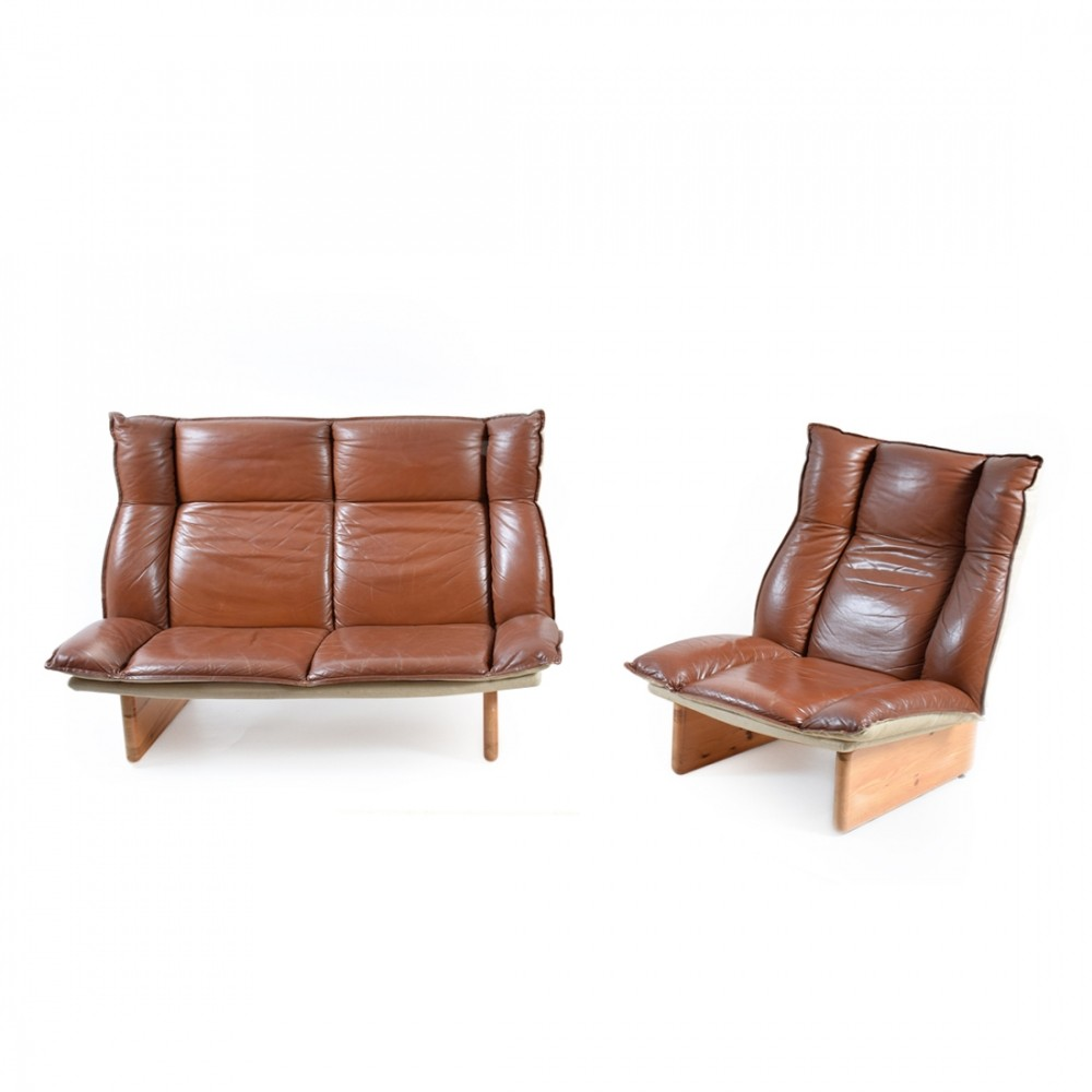 Seating Group from the seventies by Hannu Jyräs for Peem Oy Finland