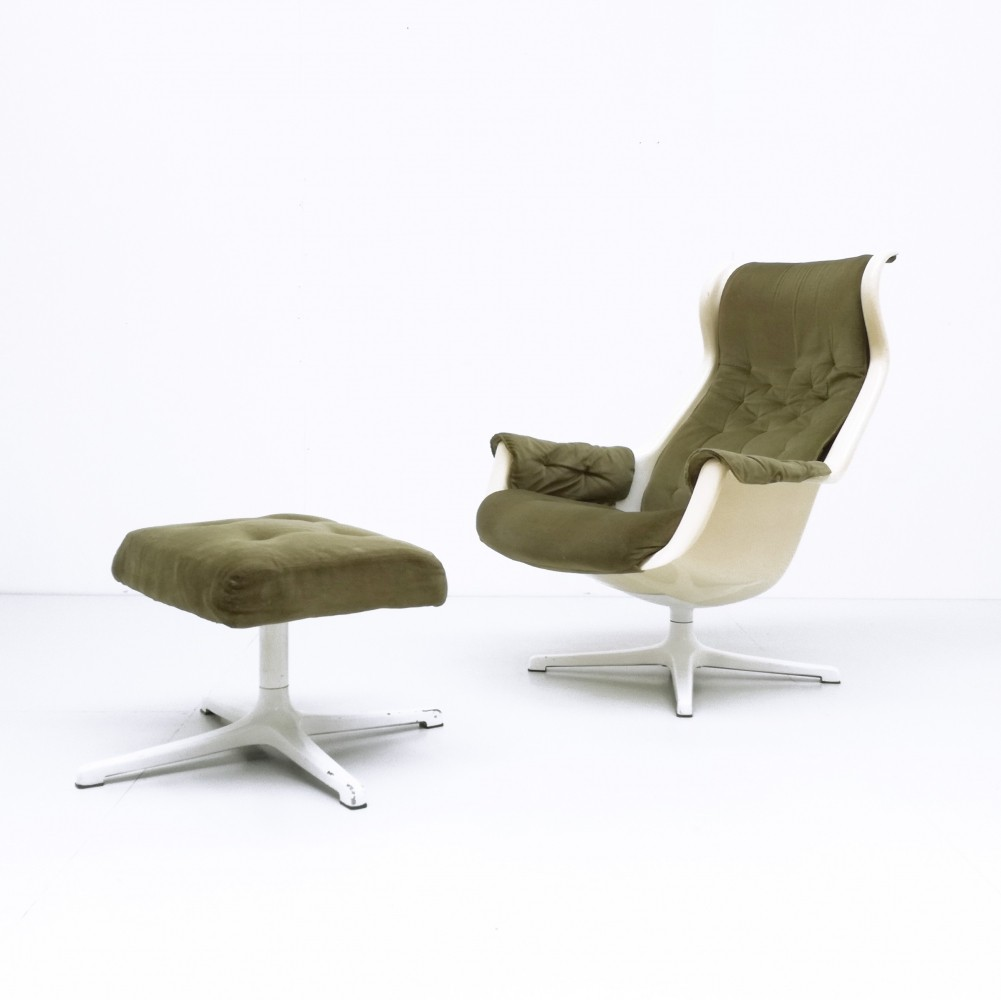 Galaxy arm chair by Alf Svensson & Yngvar Sandström for Dux, 1960s