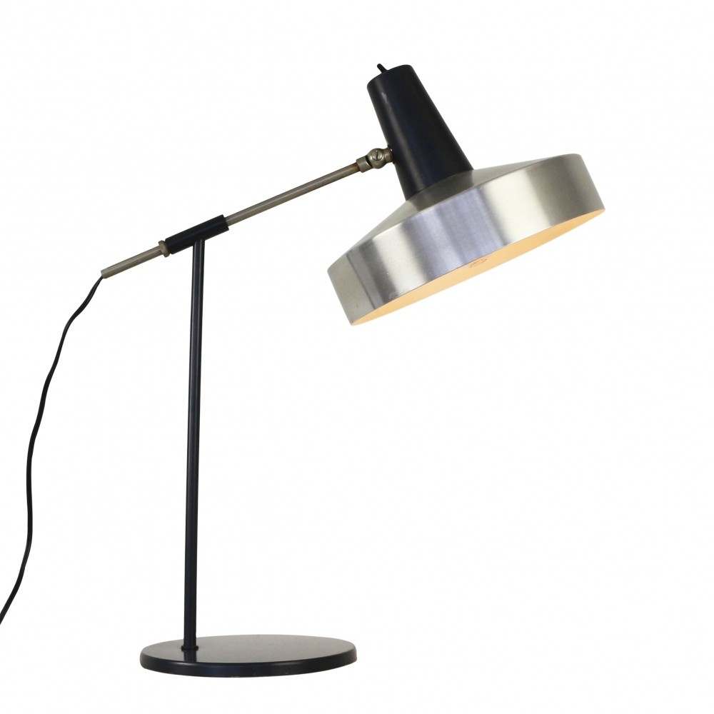 Subtle Dutch design desk light by Hala Zeist, 1960s