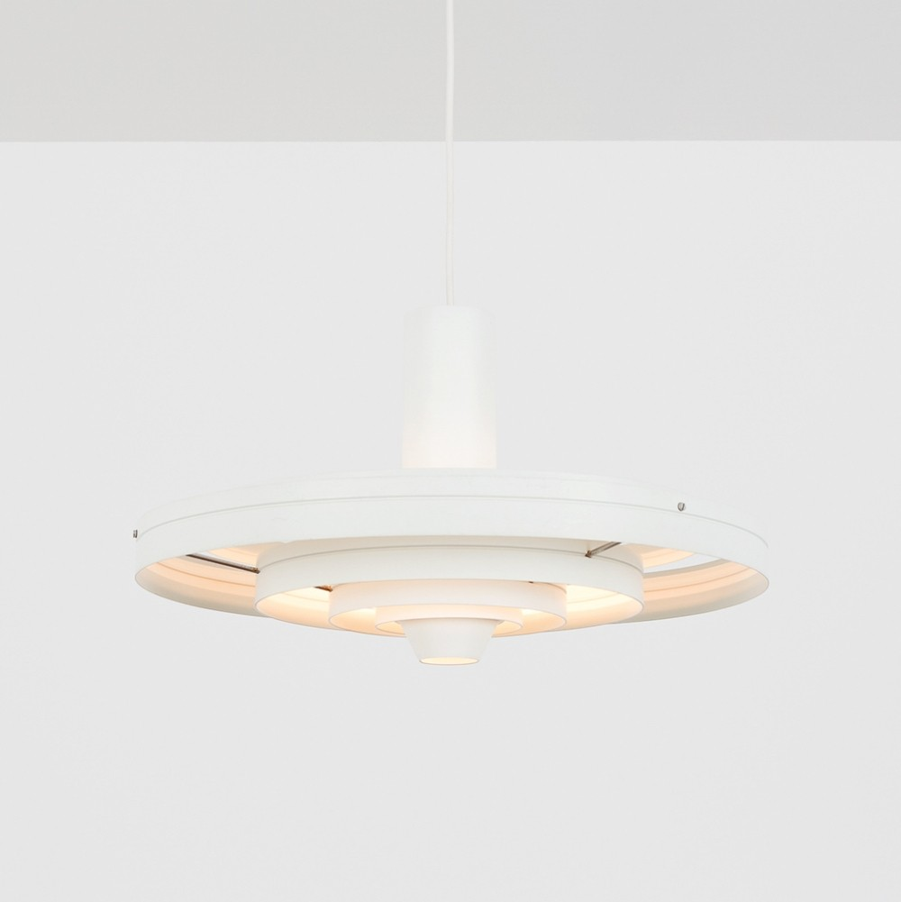 2 Fibonacci hanging lamps from the sixties by Sophus Frandsen for Fog & Mørup
