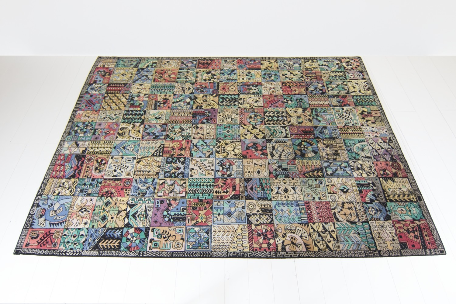 Parsa Carpet from the fifties by Unknown Designer for Vorwerk
