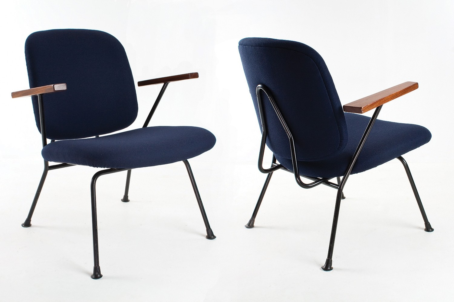 4 lounge chairs from the fifties by W. Gispen for Kembo