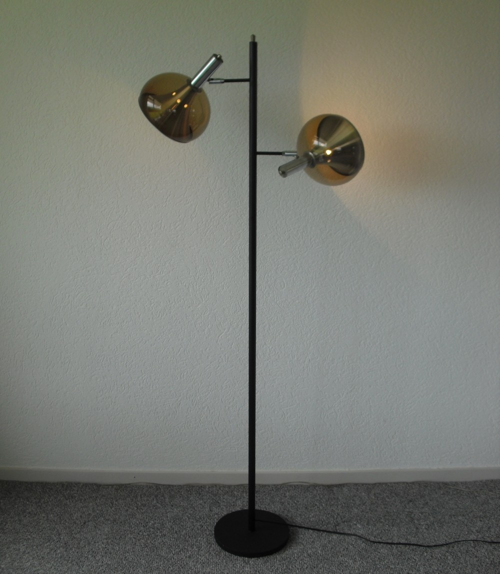Floor lamp from the sixties by unknown designer for for Dijkstra lampen