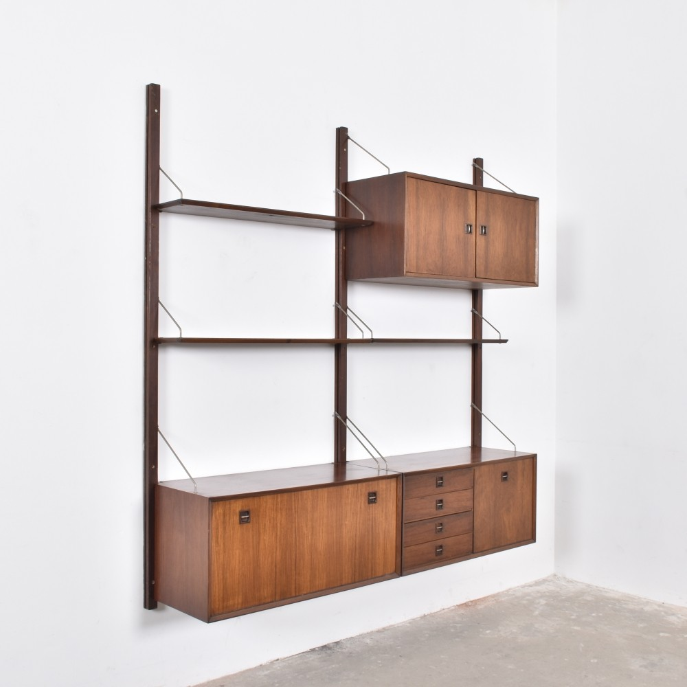 wall unit from the fifties by unknown designer for topform - Designer Wall Unit