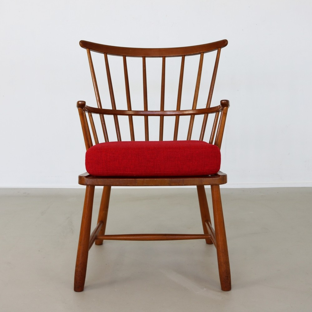 windsor arm chair by ove boldt for fritz hansen