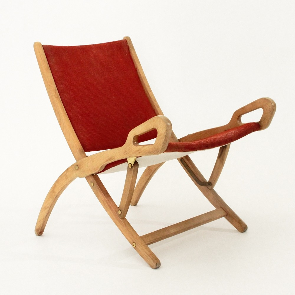 Ninfea Arm Chair By Gio Ponti For Fratelli Reguitti, 1950s
