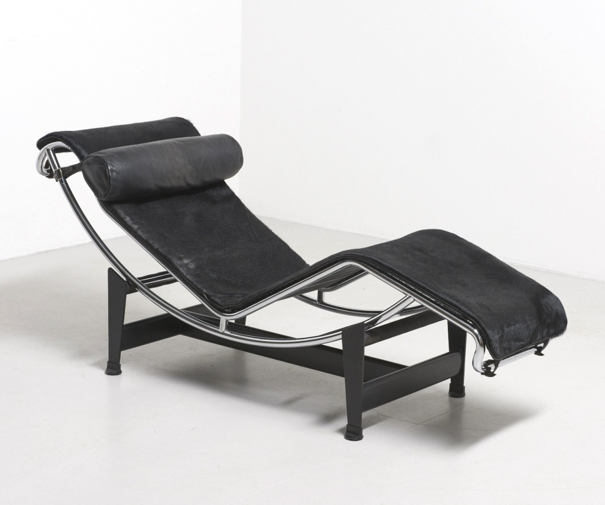 LC4 lounge chair by Le Corbusier & Charlotte Perriand for Cassina, 1960s