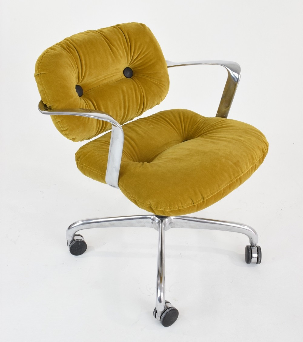mid-century hannah morrison for knoll desk chair, 1950s | #62804