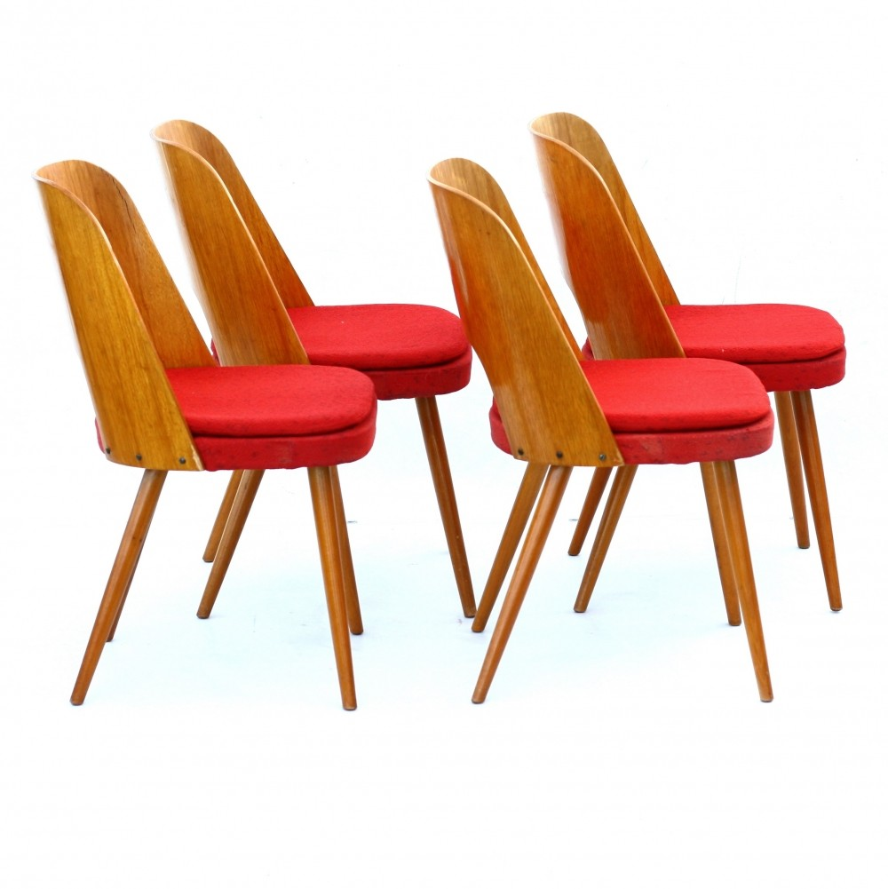 1960s furniture 4 x tatra 515 dinner chair by tatra nabytok np 1960s