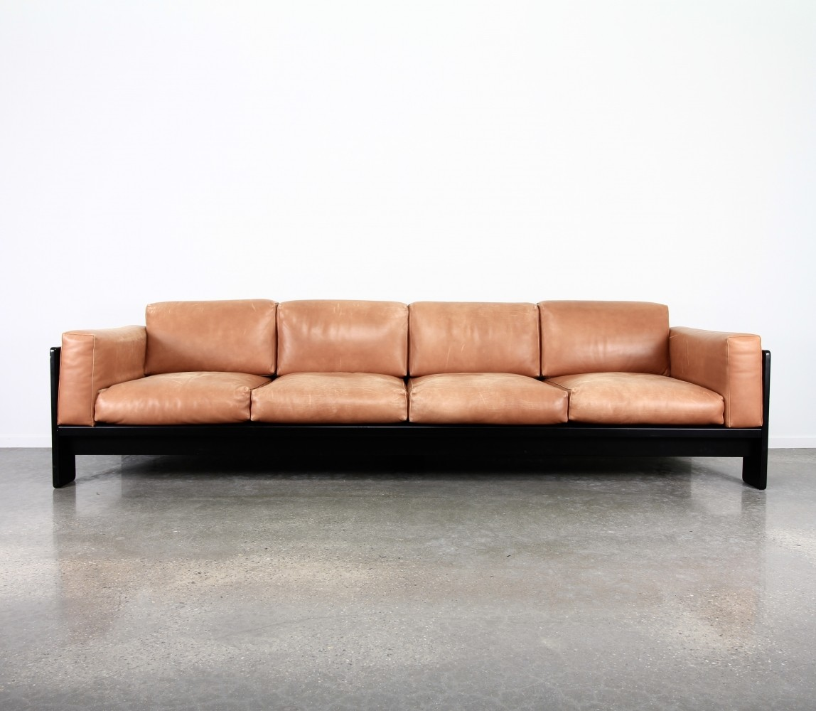 4 seater bastiano sofa by tobia scarpa for knoll 1990s 63070. Black Bedroom Furniture Sets. Home Design Ideas