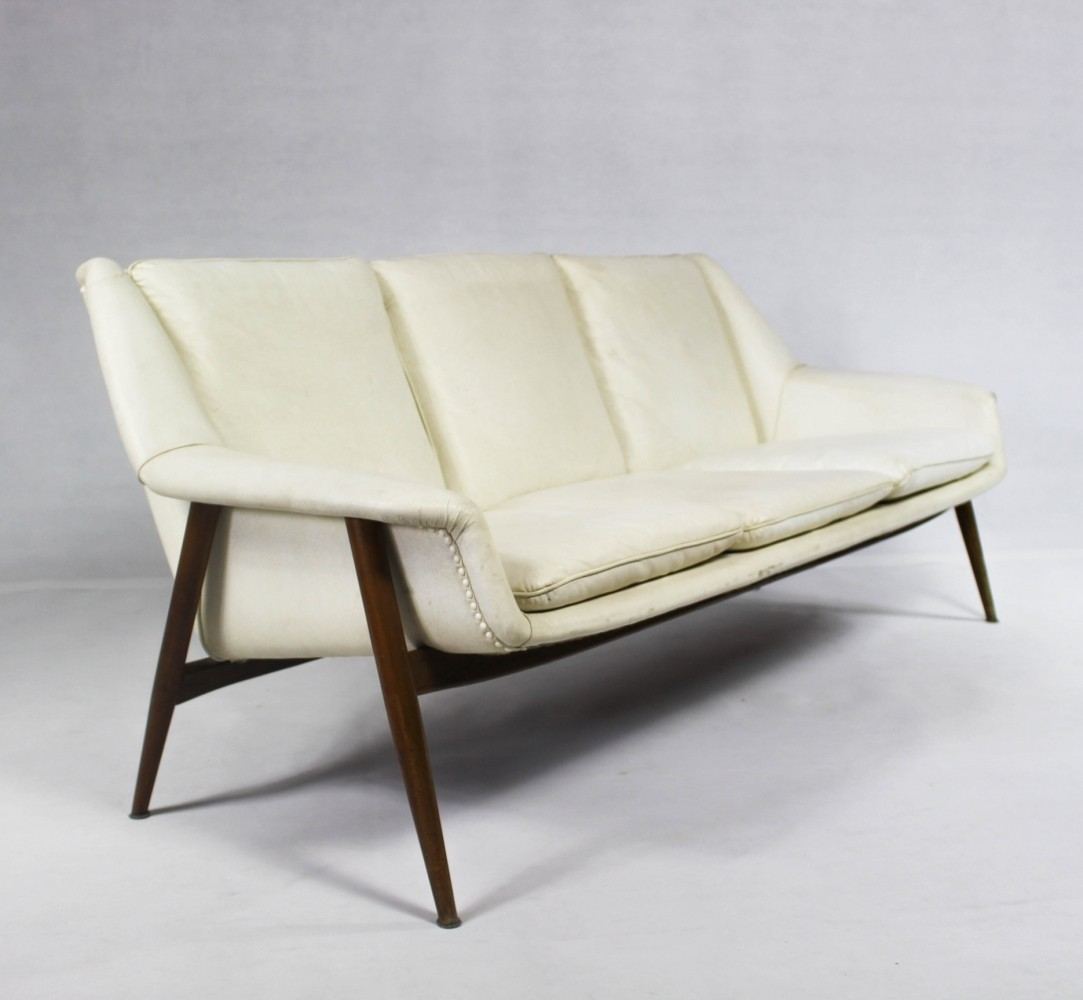 Unique sofa produced by Wilhelm Knoll for Cassina, 1950