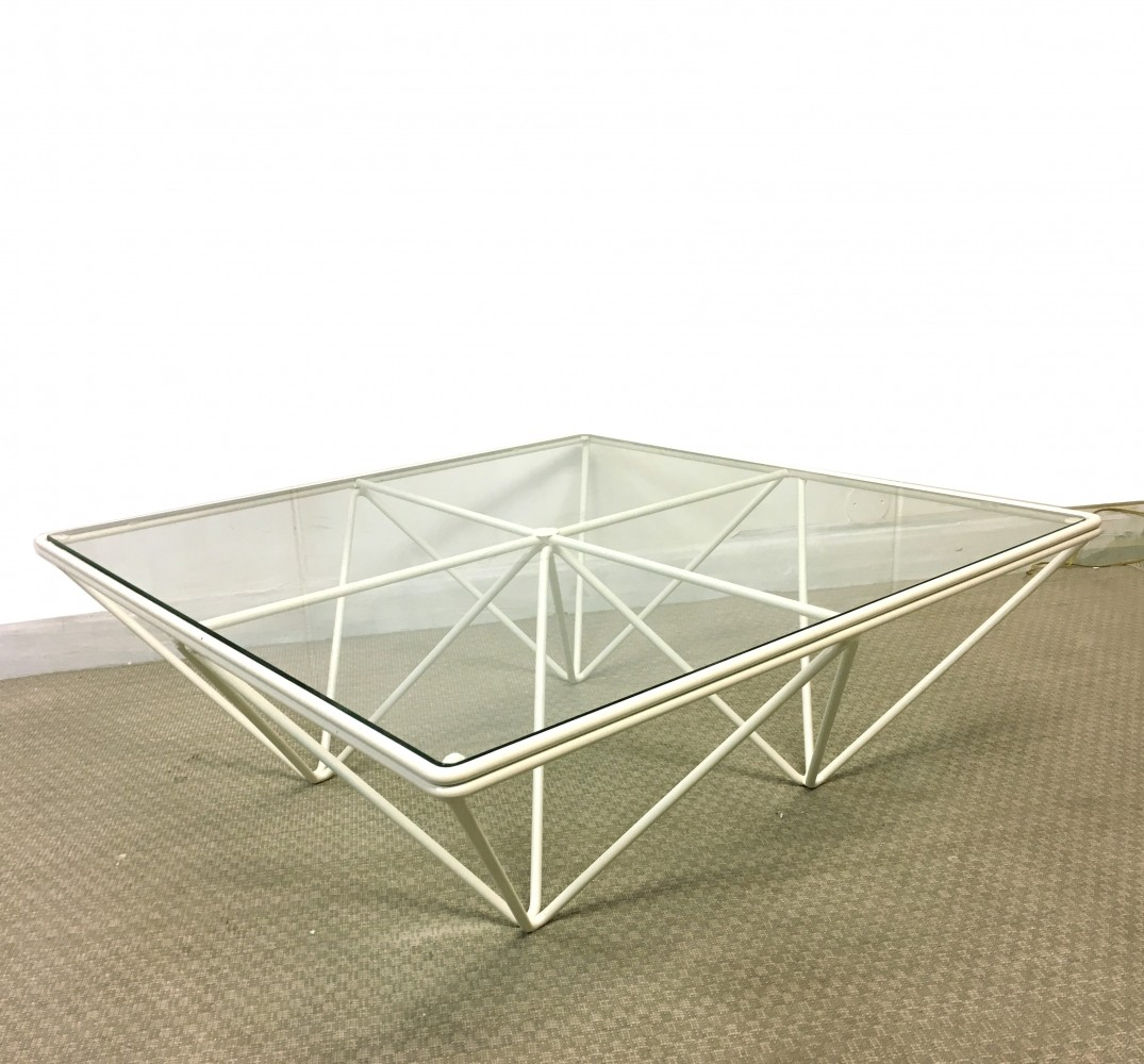Vintage coffee table, 1980s