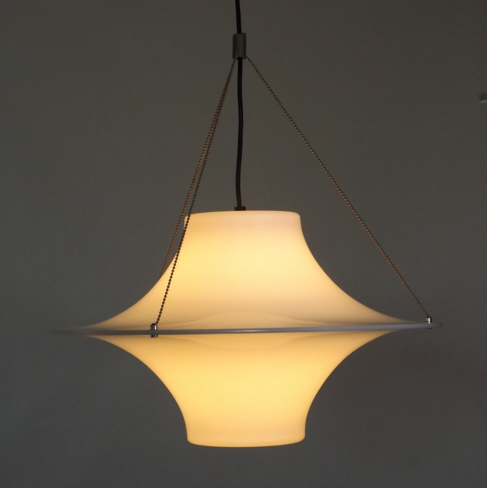 Skyflyer or Lokki hanging lamp by Yki Nummi, 1960s