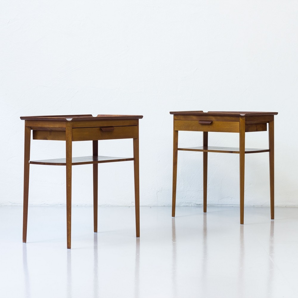 Pair of side tables by Bertil Fridhagen for Bodafors, 1950s