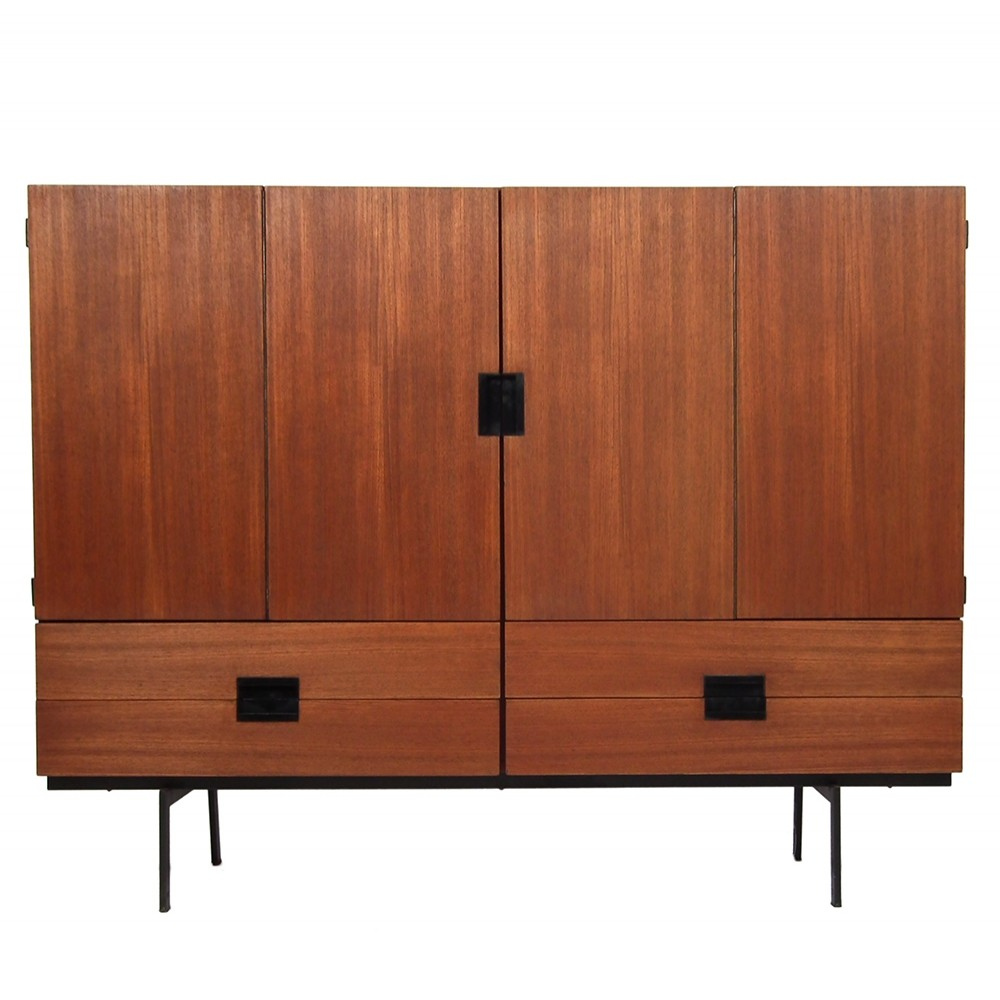 Cu-04 Cabinet from the fifties by Cees Braakman for Pastoe