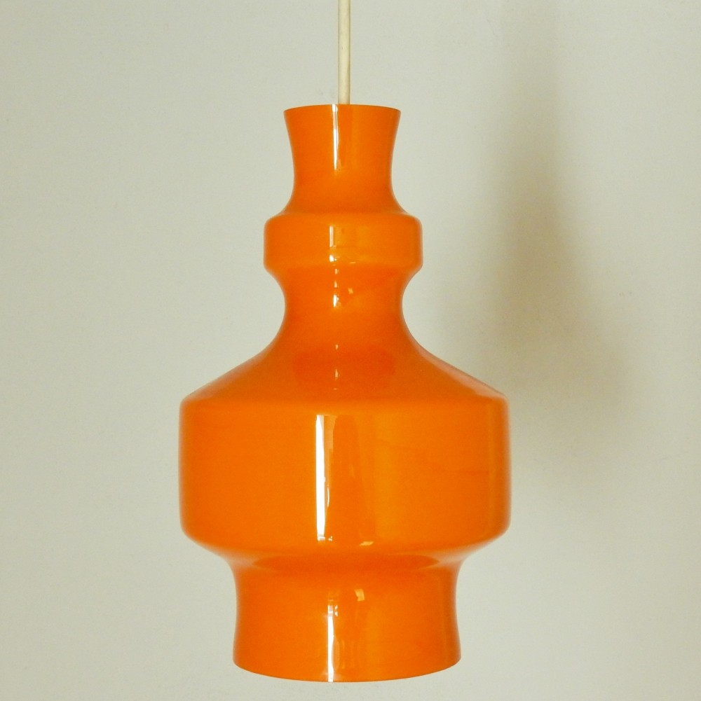 Set of 4 B-1202 hanging lamps by Raak Amsterdam, 1960s