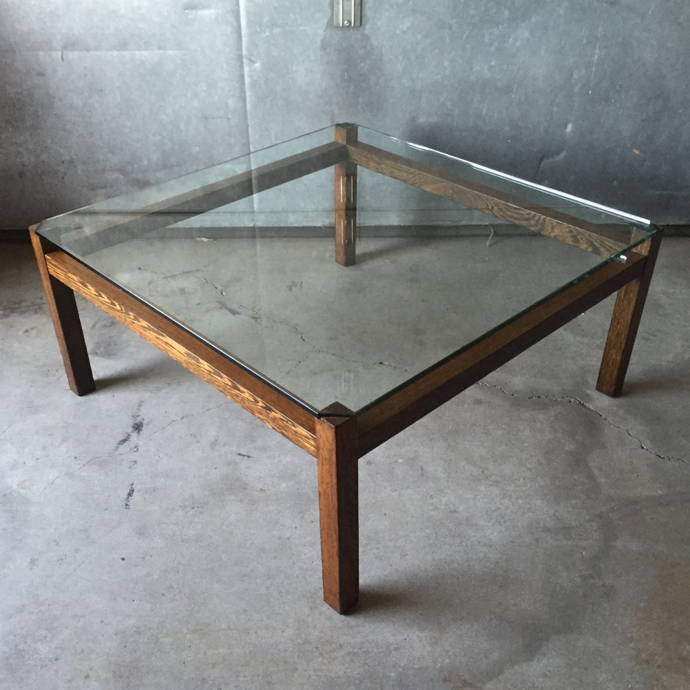 Liesbosch coffee table by Kho Liang Ie for Spectrum, 1960s