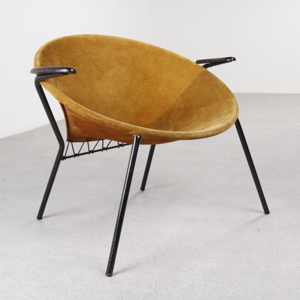 Balloon Lounge Chair By Hans Olsen For LEA, 1960s