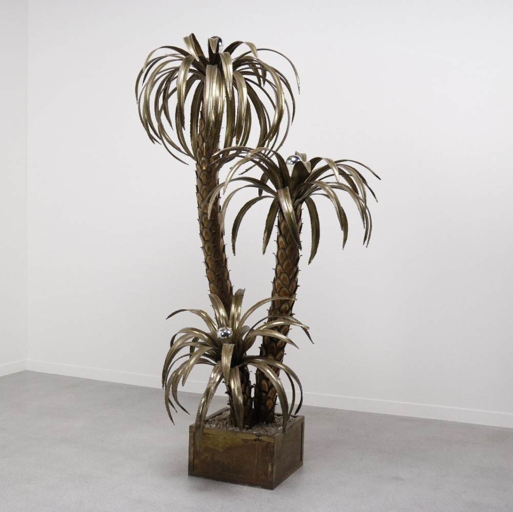 Palm tree floor lamp by maison jansen 1970s 64299 palm tree floor lamp by maison jansen 1970s aloadofball Image collections