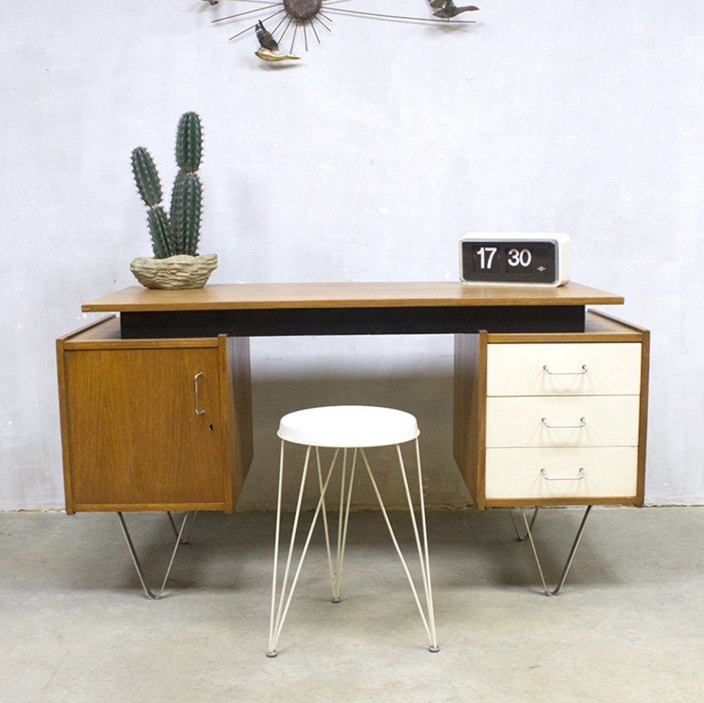 writing desk by cees braakman for pastoe 1950s