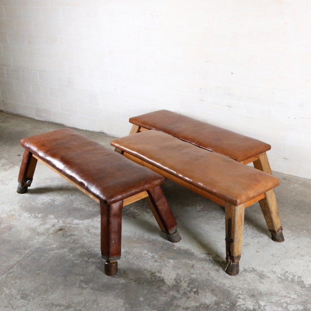 3 benches from the thirties by Unknown Designer for Unknown Producer