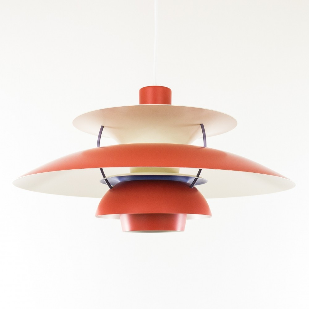 PH5 Hanging Lamp from the seventies by Poul Henningsen for Louis Poulsen