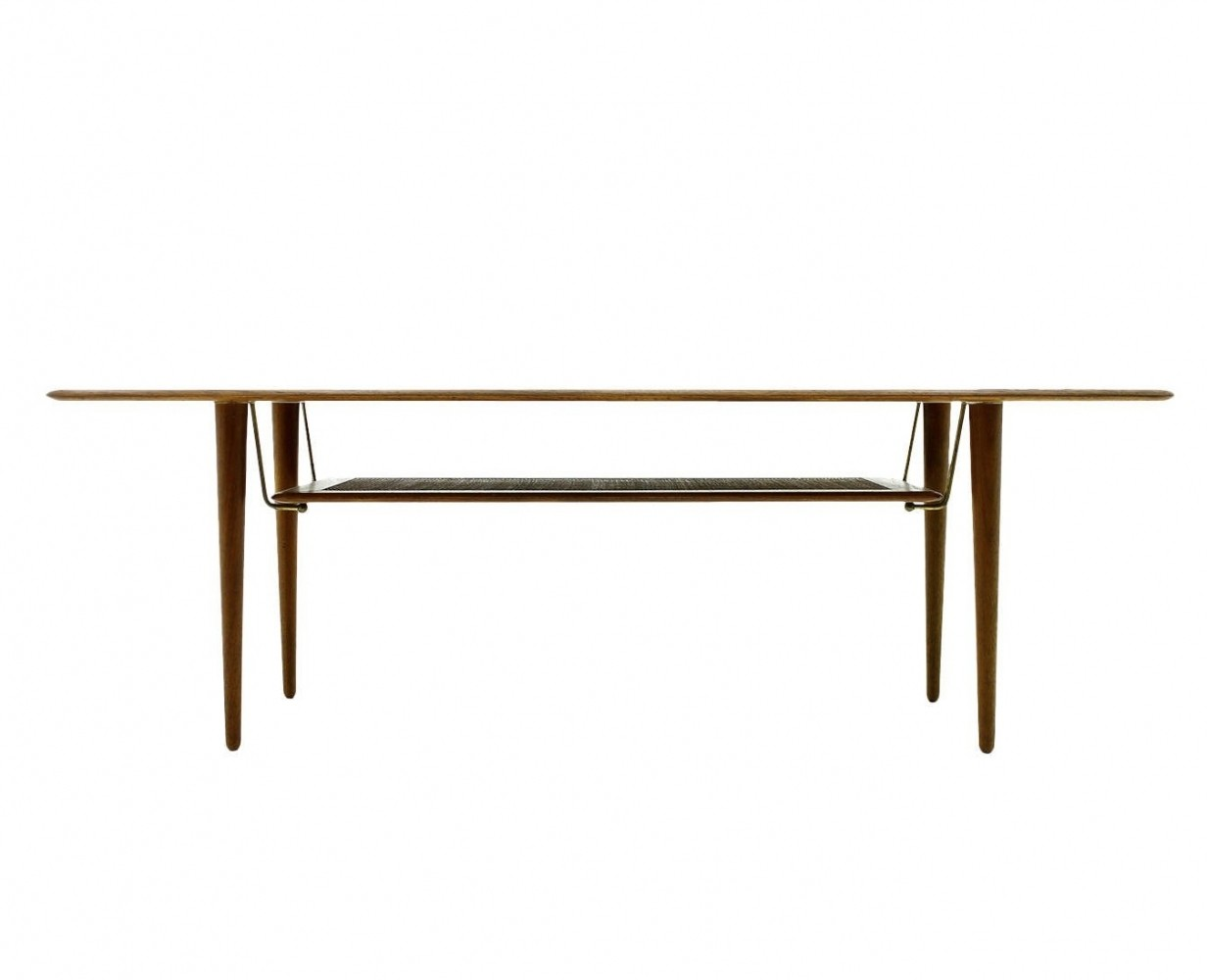 FD 516 coffee table by Peter Hvidt & Orla Mølgaard Nielsen for France & Daverkosen, 1950s