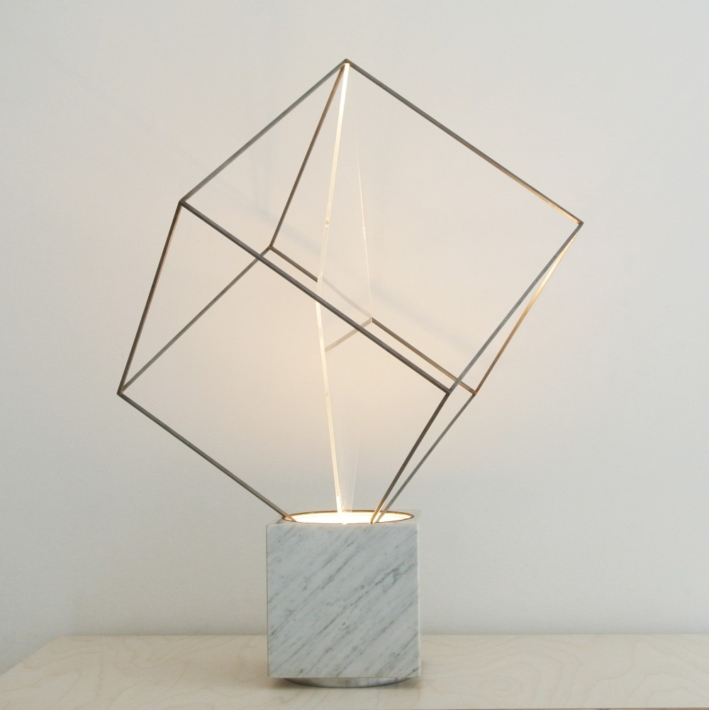 Tulpa Desk Lamp from the sixties by Claudio Salocchi for Lumenform
