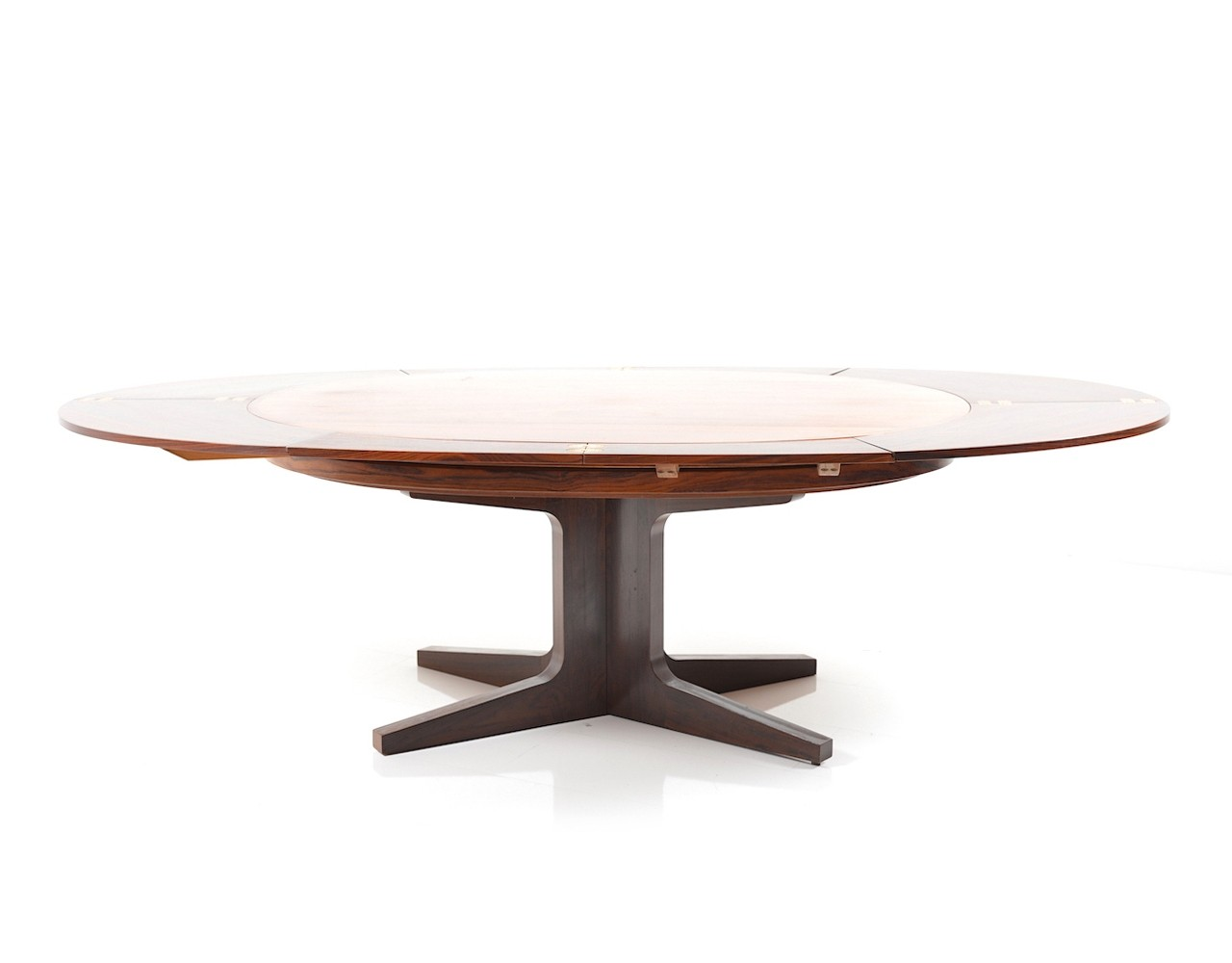 Big Dining Table Part - 50: Tables / Dining Tables / Rare U0026 Fantastic Big Dyrlund Smith U0027Flip Flapu0027 Dining  Table In Rosewood, 1960s