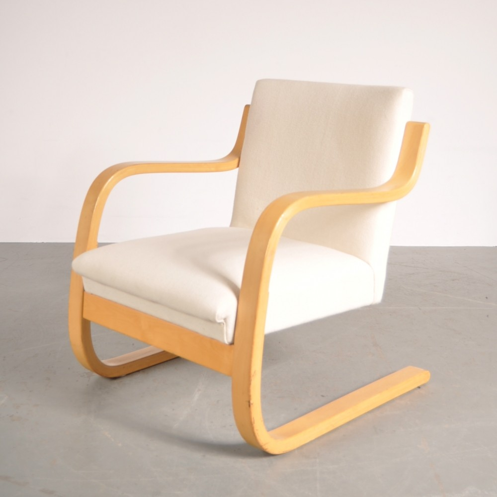 Vintage aalto chair - Lounge Chair By Alvar Aalto For Artek 1950s