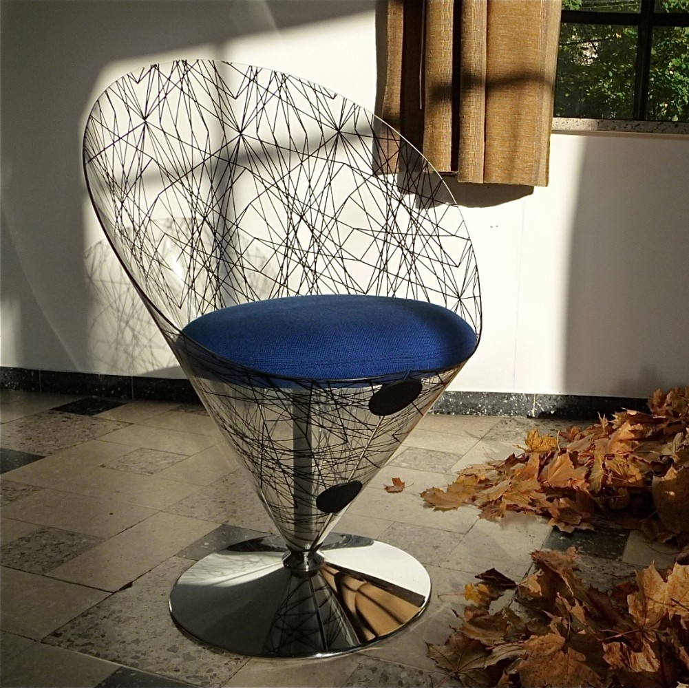 VP 01C lounge chair by Verner Panton for Polythema, 1990s