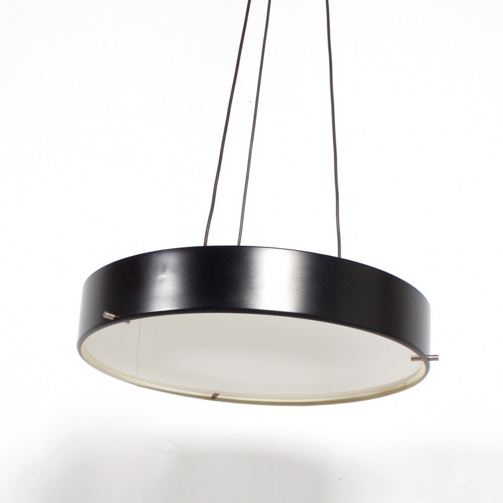 Model 1090 hanging lamp by Bruno Gatta for Stilnovo, 1950s