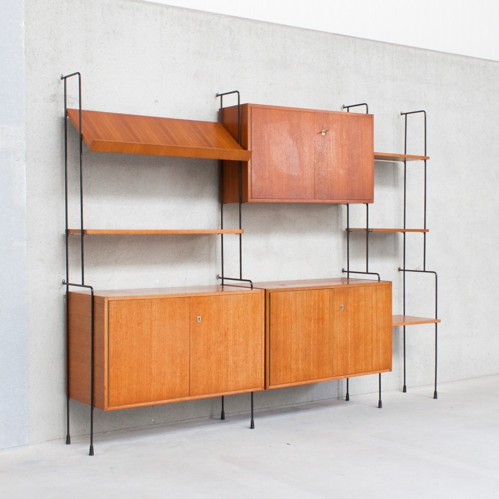 Omnia Möbel System wall unit, 1960s